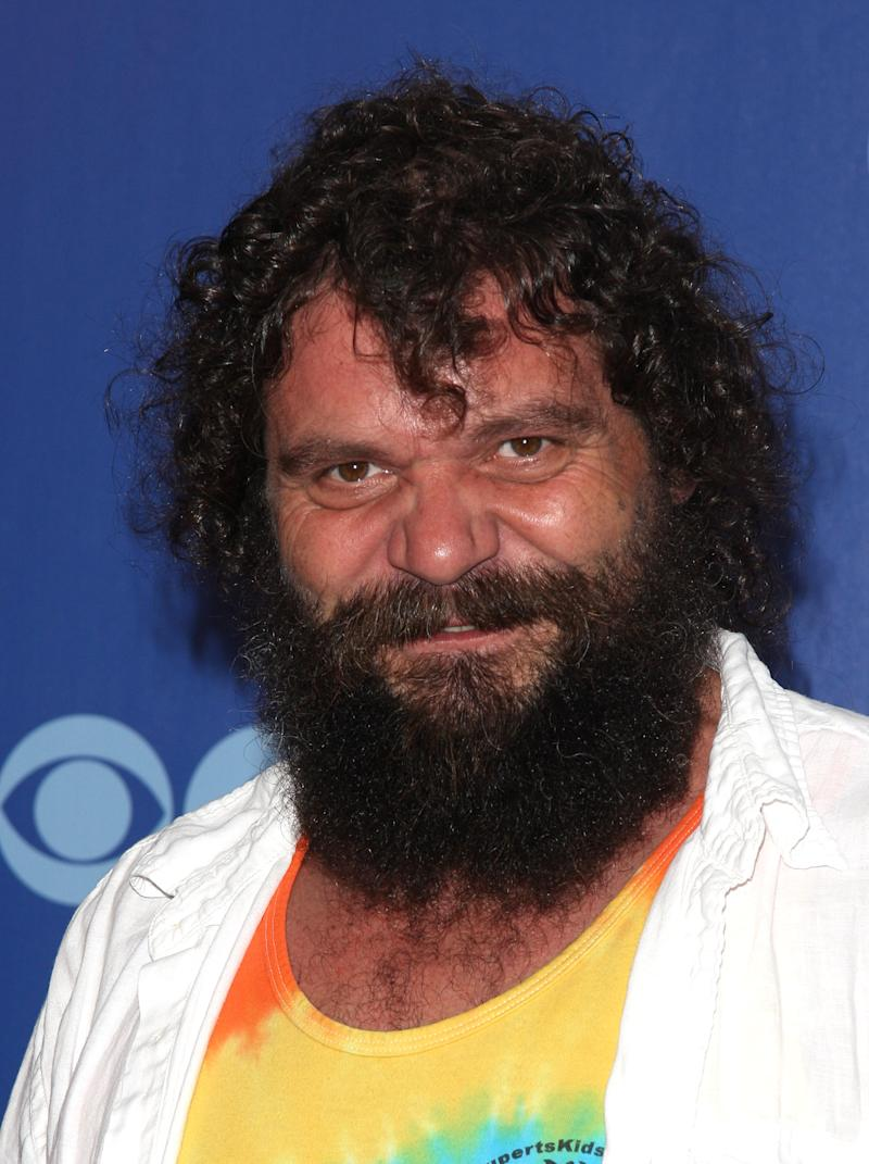 """FILE - In this May 19, 2010 file photo, former """"Survivor"""" contestant Rupert Boneham poses for a photo as he attends the CBS Upfront presentation in New York. Boneham, 47, announced Saturday, Oct. 22, 2011, that he's seeking the Libertarian Party nomination for Indiana governor, saying he wants to take on the state's political establishment because he feels voters deserve better. (AP Photo/Peter Kramer, File)"""