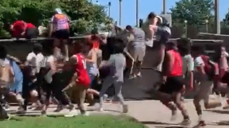 50 teenagers storm gates at Lollapalooza, immediately arrested