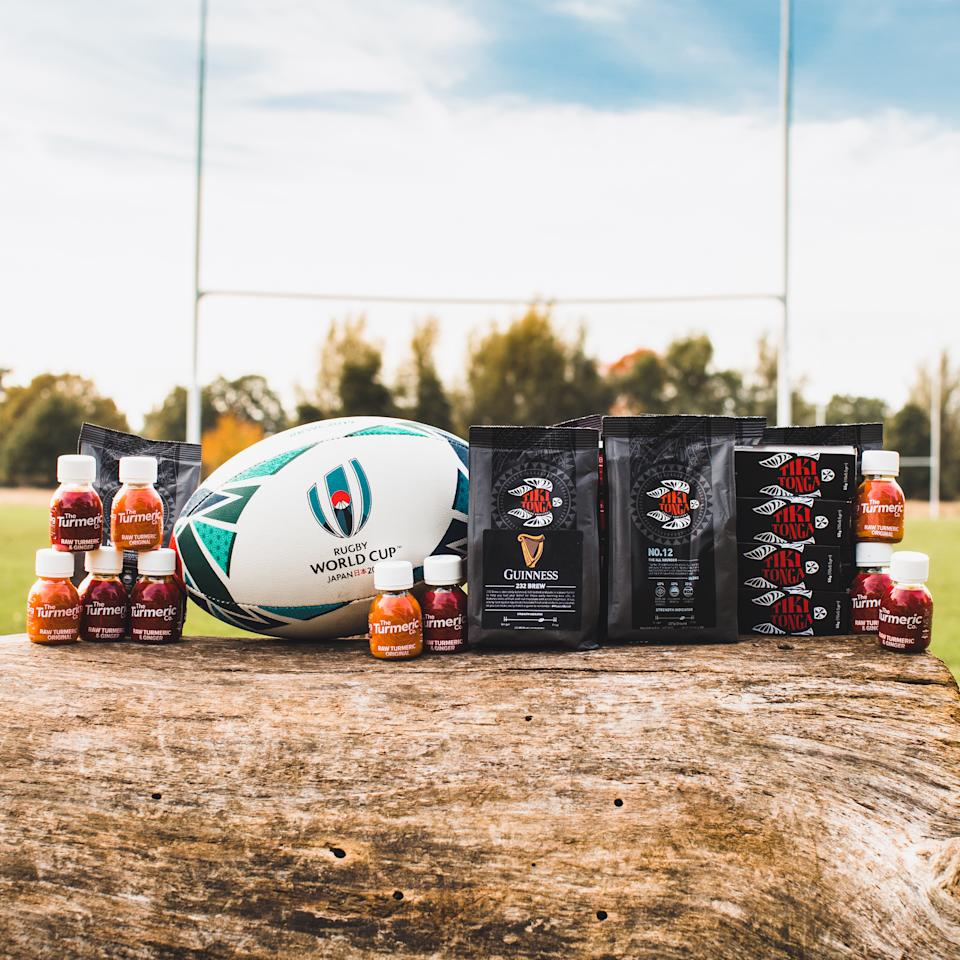 Robson-Kanu's innovative brand, The Turmeric Co., have announced a landmark partnership with Leicester Tigers