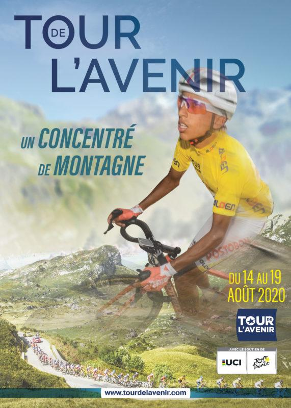 The poster of the 2020 Tour de l'Avenir