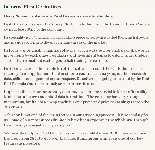 In focus | First Derivatives