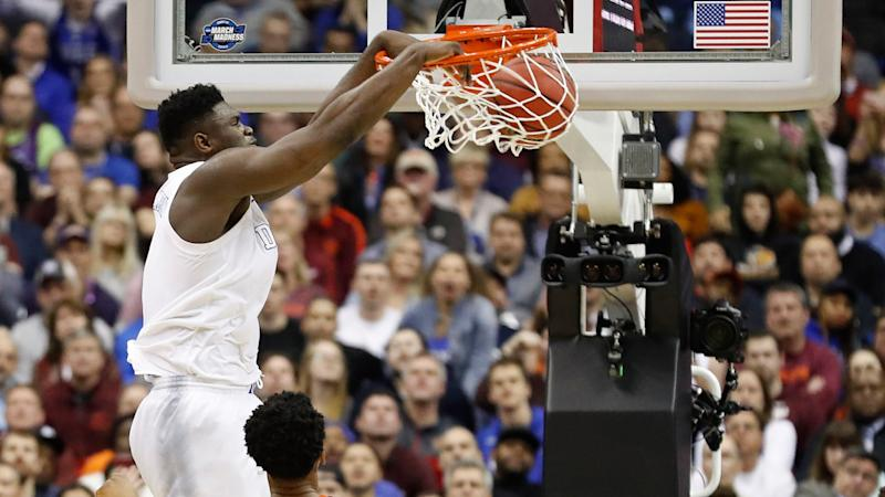 Zion Williamson declared for the National Basketball Association draft and everyone made Knicks jokes