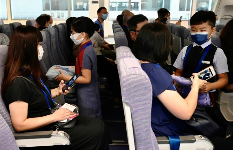 Taiwan airlines offer sight-seeing flights during pandemic