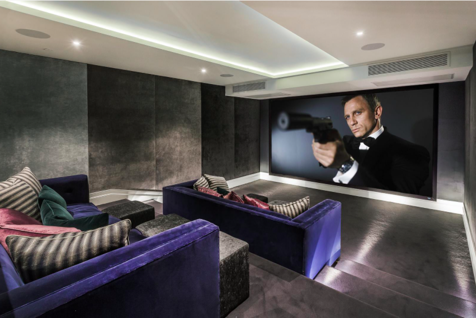 The cinema room. Photo: House.