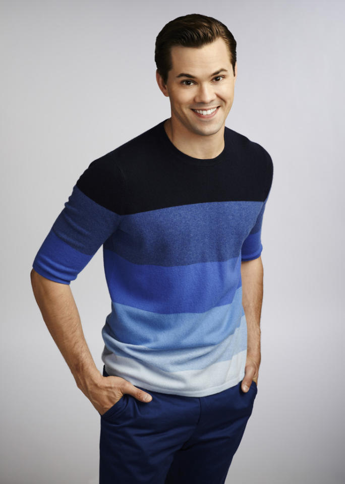 """Andrew Rannells stars as Bryan in """"The New Normal"""" on NBC."""