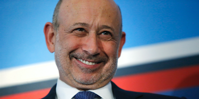 Goldman Sachs chairman and CEO Lloyd Blankfein REUTERS/Jonathan Ernst