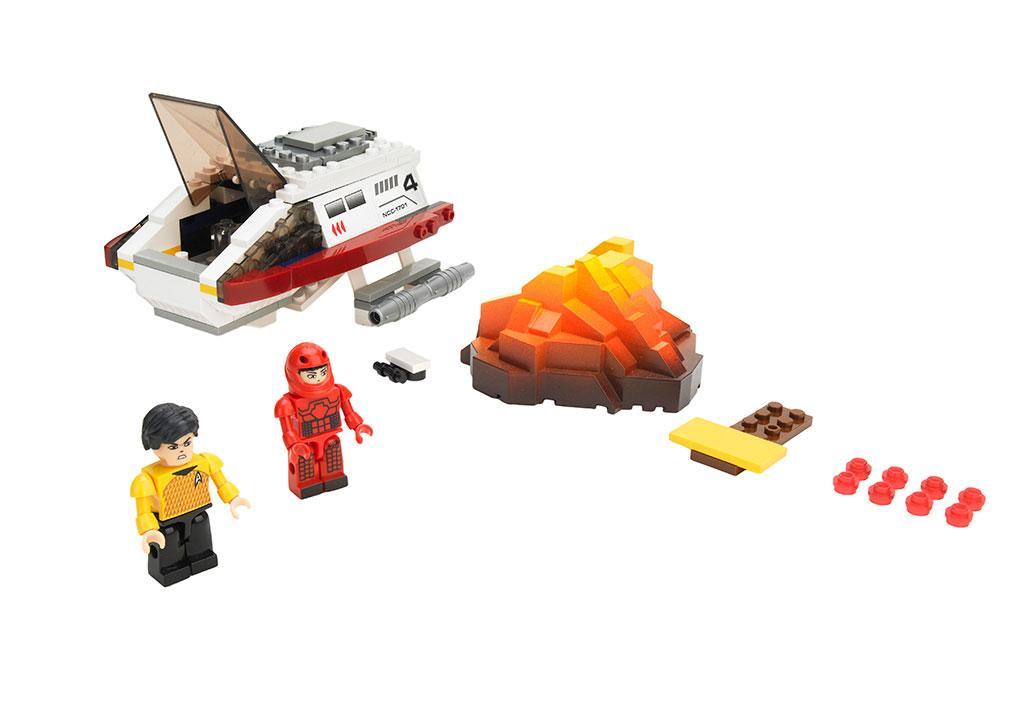 "KRE-O ""Star Trek"" Spock's Volcano Mission Set"