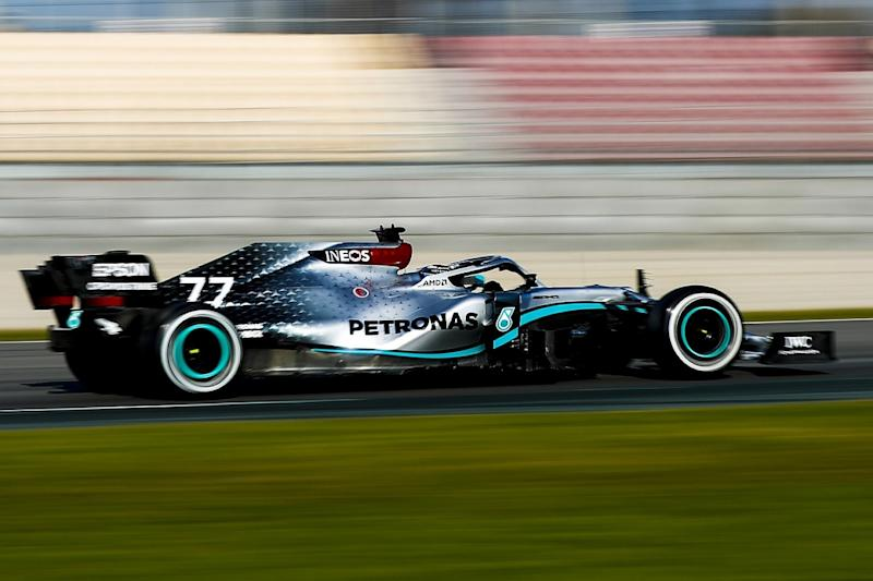 Bottas pips Perez to fastest time on opening morning