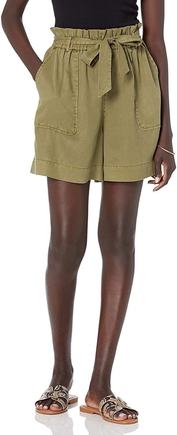 <p>Style these <span>The Drop Bailey Utility Belted Shorts</span> ($45) with a casual tank top and some slides for a cool, relaxed look.</p>