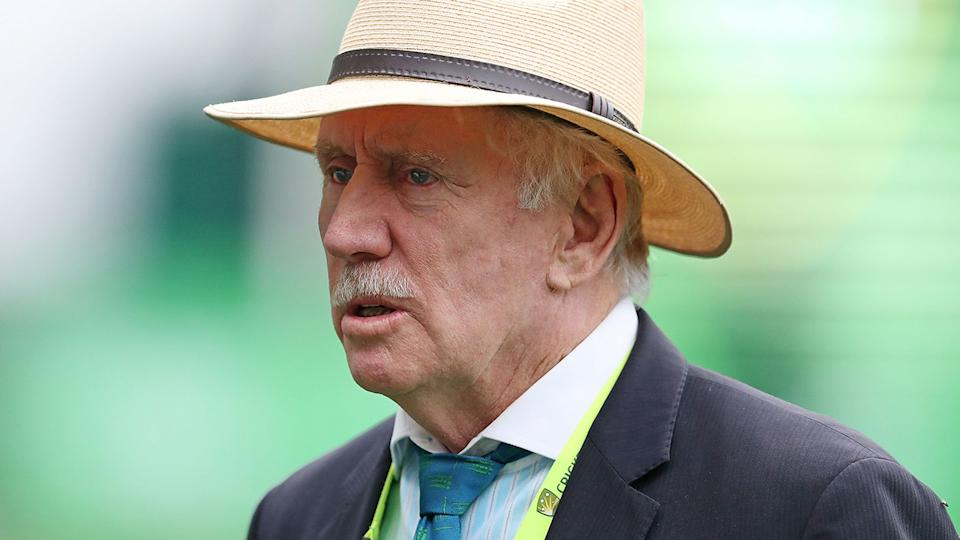 Ian Chappell, pictured here during the second Test between Australia and Pakistan in 2016.