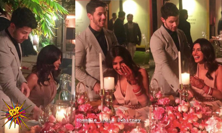 Watch Video: Priyanka Chopra Can't Stop Blushing As Nick Jonas Pulls The Chair For Her In Front Of Everyone!