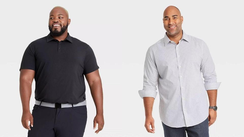 Target has plenty of affordable big and tall year-round pieces.