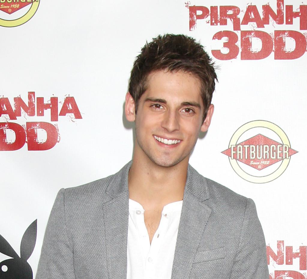 Jean-Luc Bilodeau at the Premiere of Piranha 3DD at the Mann Chinese 6 in Los Angeles, USA