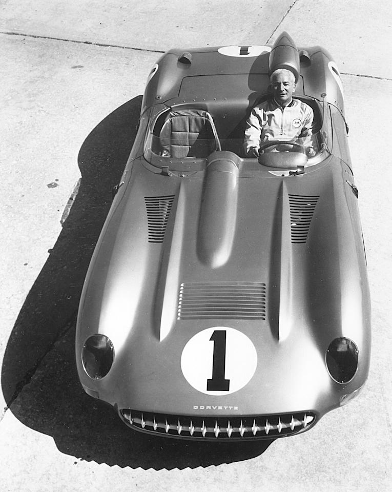 "The Belgian-born American engineer Zora Arkus-Duntov's work on the Chevrolet Corvette earned him the nickname ""Father of the Corvette."" Photo by ISC Archives via Getty Images"
