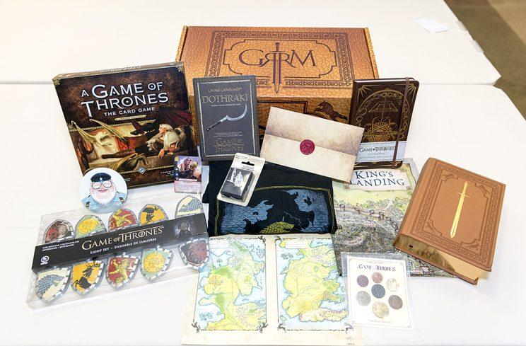 George R.R Martin ReedPOP Limited Edition Box (Photo: ReedPOP)