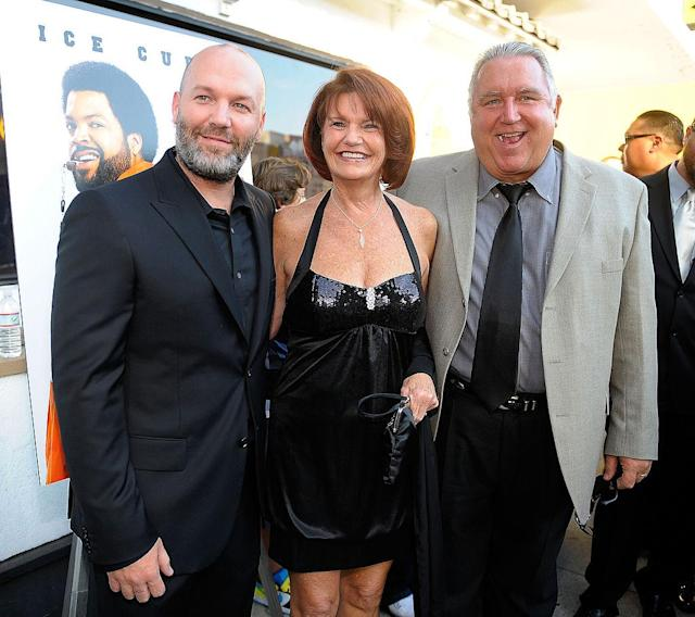 <p>Fred Durst, mother Anita Durst, and father Bill Durst attend the world premiere of the Weinstein Company's 'The Longshots' at the Majestic Crest Theatre on August 20, 2008 in Westwood, California. </p>