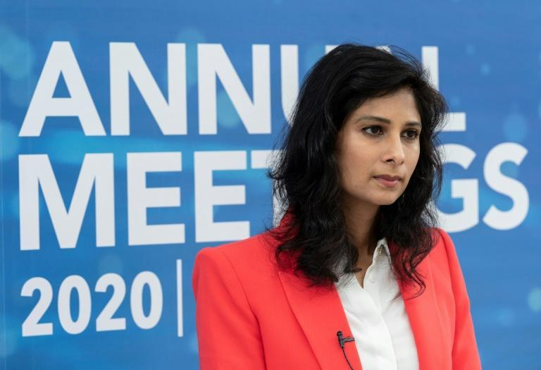 IMF chief economist Gita Gopinath told AFP a US major stimulus package would increase growth by two percentage points next year