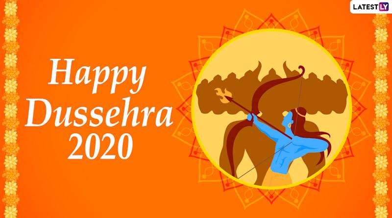 dussehra 2020 images ravan dahan hd wallpapers for free download online wish happy vijayadashami with whatsapp stickers gif greetings and facebook messages dussehra 2020 images ravan dahan hd