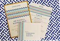 """<div class=""""caption-credit""""> Photo by: Katherine O'Brien</div>The color palette of the chevron pattern on these invitations alone would make us RSVP """"yes."""" <br> <br> <a href=""""http://lover.ly/search?e=0&q=patterns&utm_source=shine2-7-13chevron&utm_medium=guest&utm_campaign=shine2-7-13chevron"""" rel=""""nofollow noopener"""" target=""""_blank"""" data-ylk=""""slk:More bold wedding patterns"""" class=""""link rapid-noclick-resp"""">More bold wedding patterns</a> <br> <br> Photo by: <a href=""""http://r.lover.ly/redir.php/H/dKR5VJUAY_aHR0cDovL3d3dy5rYXRoZXJpbmVvYnJpZW4uY29tLw=="""" rel=""""nofollow noopener"""" target=""""_blank"""" data-ylk=""""slk:Katherine O'Brien"""" class=""""link rapid-noclick-resp"""">Katherine O'Brien</a> on <a href=""""http://r.lover.ly/redir.php/455..fgNpl6_aHR0cDovL3N0eWxldW52ZWlsZWQuY29tL3dlZGRpbmctYmxvZy9hbi1hdXN0aW4td2VkZGluZy10aGF0LXVzZXMtc3VjY3VsZW50cy1hbmQtY2hldnJvbi5odG1s"""" rel=""""nofollow noopener"""" target=""""_blank"""" data-ylk=""""slk:Style Unveiled"""" class=""""link rapid-noclick-resp"""">Style Unveiled</a> via <a href=""""http://lover.ly/image/157268"""" rel=""""nofollow noopener"""" target=""""_blank"""" data-ylk=""""slk:Lover.ly"""" class=""""link rapid-noclick-resp"""">Lover.ly</a> <br> <br>"""
