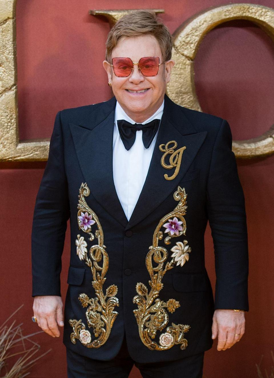 """<p>Sir Elton started releasing music in the late 1960s, but not many people took notice in the beginning. His 1968 release """"I've Been Loving You"""" went largely ignored, and same goes for the next two songs he tried. The 70s proved far more successful for him, when """"Border Song"""" finally broke through on the charts. </p><p><a class=""""link rapid-noclick-resp"""" href=""""https://www.amazon.com/Ive-Been-Loving-You/dp/B07TZKFJQS/ref=sr_1_4?tag=syn-yahoo-20&ascsubtag=%5Bartid%7C10063.g.30535280%5Bsrc%7Cyahoo-us"""" rel=""""nofollow noopener"""" target=""""_blank"""" data-ylk=""""slk:BUY NOW"""">BUY NOW</a></p>"""