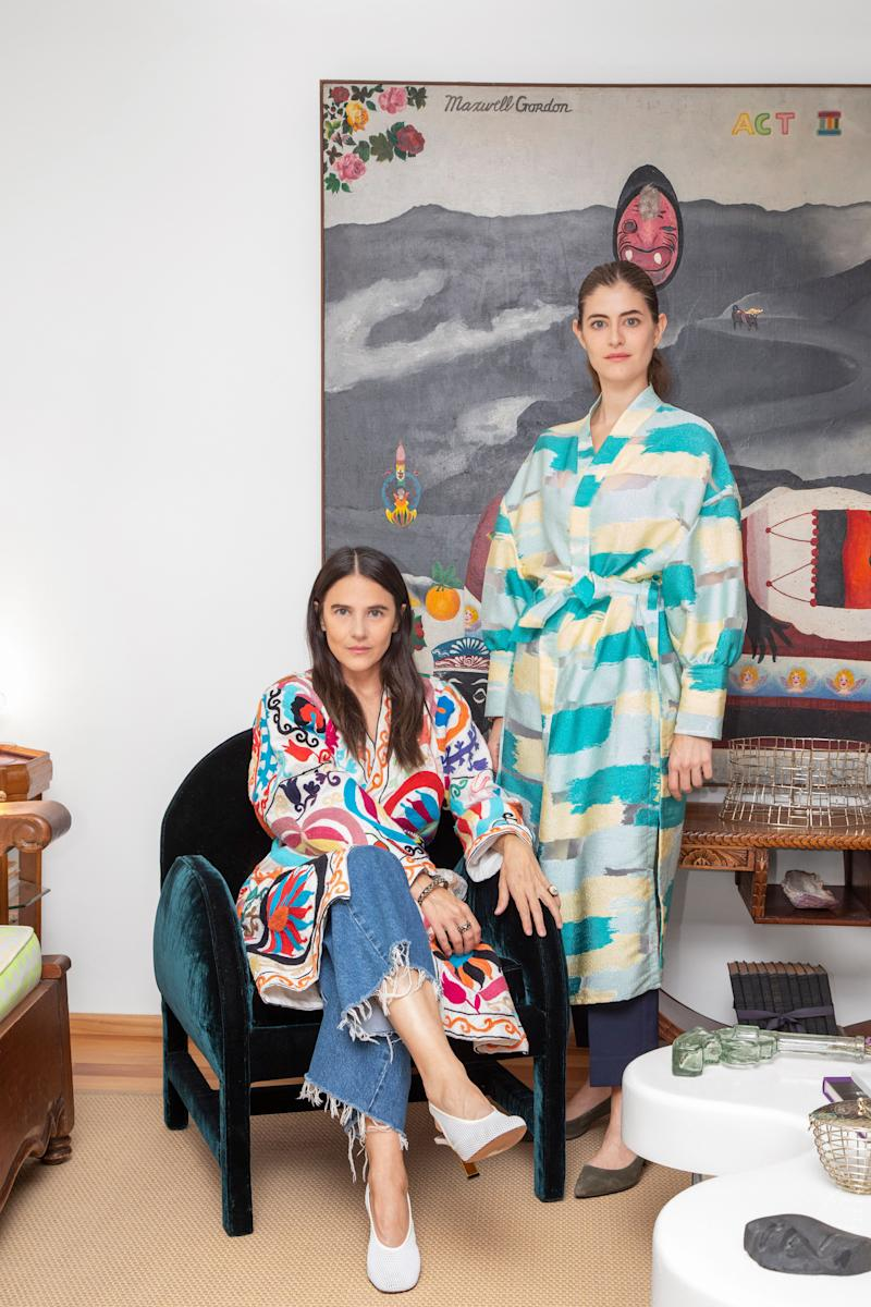"""As children in Mexico City, sisters Phoebe (above left) and Annette Stephens idolized their grandmother, a jewelry designer who crafted treasures collected by the likes of Peggy Guggenheim and Frida Kahlo. In 2009, they followed in her footsteps, launching Anndra Neen, an accessories brand that works with a traditional Taxco metalsmith to realize their designs using local silver, stones, and shells. """"These are techniques that, if someone doesn't protect them, are going to be lost,"""" says Phoebe. Rings, cuffs, and clutches have since expanded into bowls, napkin holders, and mirrors, with the possibility of chairs and lamps to come. """"We want to make things you can't find anywhere else,"""" says Annette. """"It's in our DNA."""" anndraneen.com"""