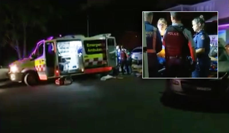 A woman, 43, has died after being found with stab wounds at Glenfield in Sydney's southwest.