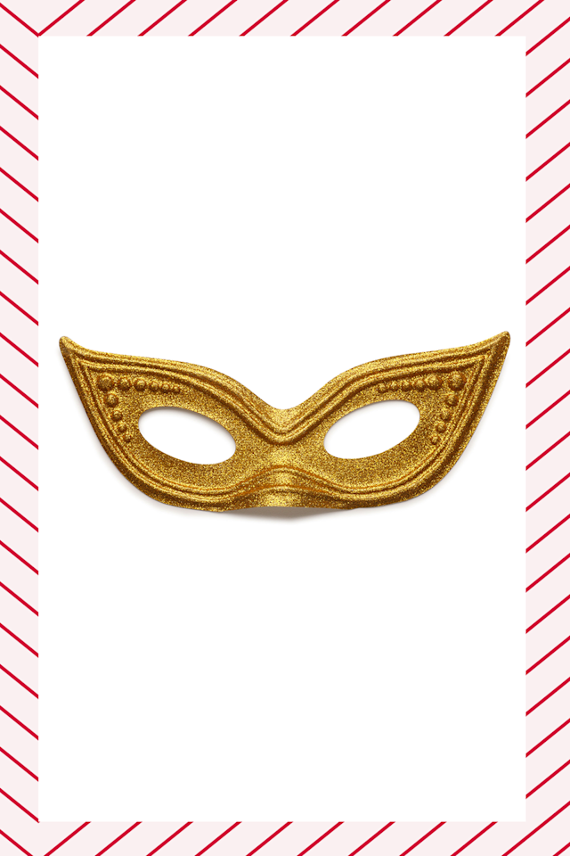"<p>A masquerade is the easiest, least expensive way to get people to dress up in a costume without <em>actually</em> putting in any effort (literally, just throw a mask on over your cutest outfit). It adds an element of mystery, and it's a great icebreaker (""is that mask handmade?"") when friend groups are forced to merge. The more festive the disguise, the better. </p>"