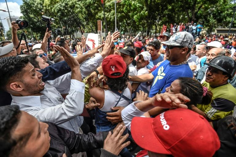 "The Organization of American States (OAS) insists its talks on the Venezuela crisis, marked by months of deadly protests, is not an ""intervention"""