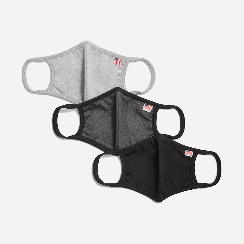 "<p>The <a href=""https://www.popsugar.com/buy/Everlane-Face-Mask-3-Pack-574477?p_name=Everlane%20The%20Face%20Mask%203-Pack&retailer=everlane.com&pid=574477&price=28&evar1=savvy%3Aus&evar9=47529524&evar98=https%3A%2F%2Fwww.popsugar.com%2Fsmart-living%2Fphoto-gallery%2F47529524%2Fimage%2F47529538%2FEverlane-Face-Mask-3-Pack&list1=shopping%2Cface%20masks&prop13=mobile&pdata=1"" rel=""nofollow"" data-shoppable-link=""1"" target=""_blank"" class=""ga-track"" data-ga-category=""Related"" data-ga-label=""https://www.everlane.com/products/womens-knit-mask-3-grey-multi?collection=womens-all-accessories"" data-ga-action=""In-Line Links"">Everlane The Face Mask 3-Pack</a> ($28) is comfortable, lightweight, and comes in three neutral colors.</p>"