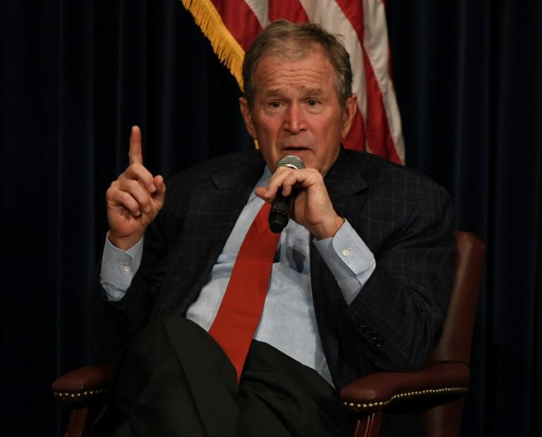 "Former president George W. Bush congratulated President-elect Joe Biden and Vice President-elect Kamala Harris and said the ""outcome is clear"""