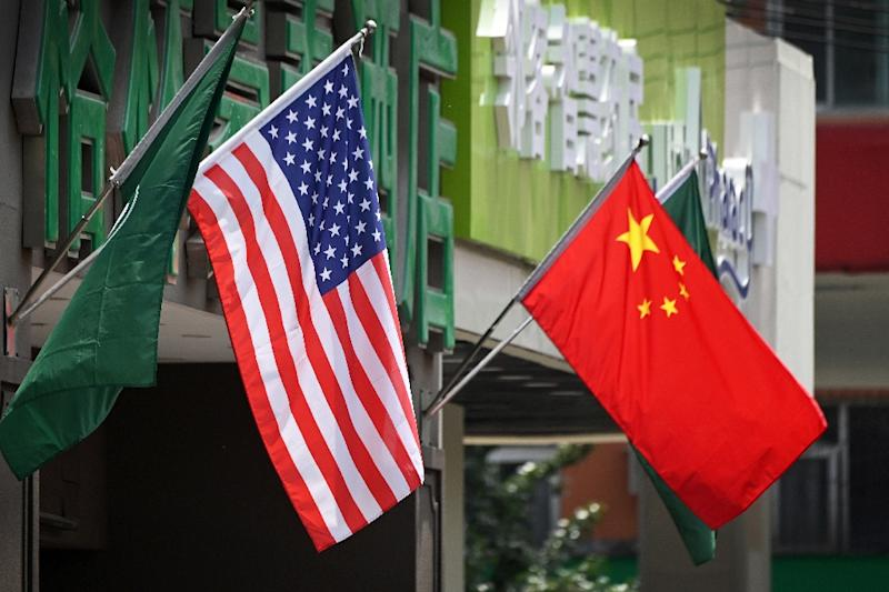 The world's top two economies are at loggerheads as trade talks have apparently stalled (AFP Photo/Greg Baker)