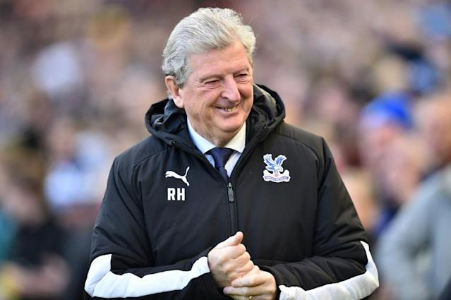 Crystal Palace manager Roy Hodgson is ready to return to work despite the coronavirus crisis (AFP Photo/Glyn KIRK )