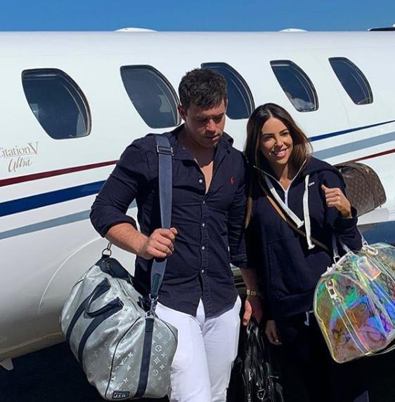 mafs couple michael and KC private jet pandemic