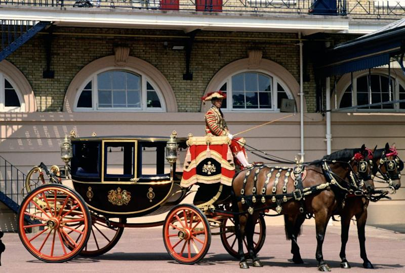 At 1pm they will take a carriage procession through Windsor. Photo: Getty Images