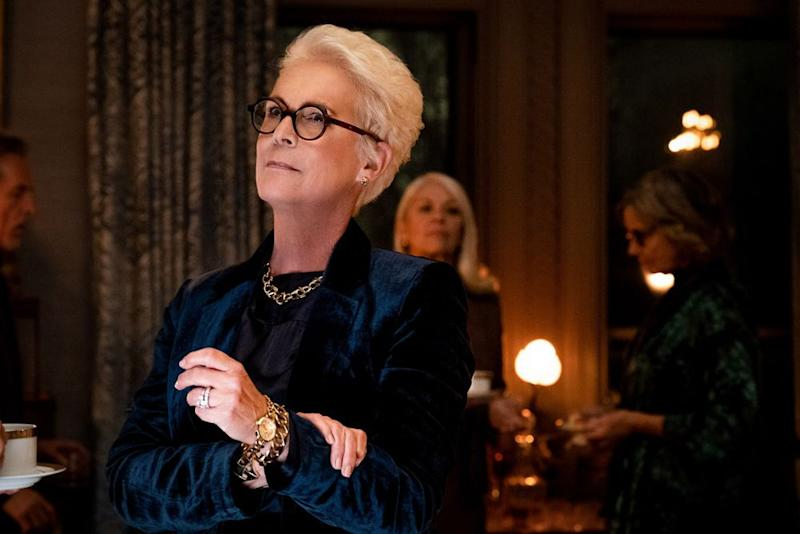 Jamie Lee Curtis inKnives Out | Claire Folger