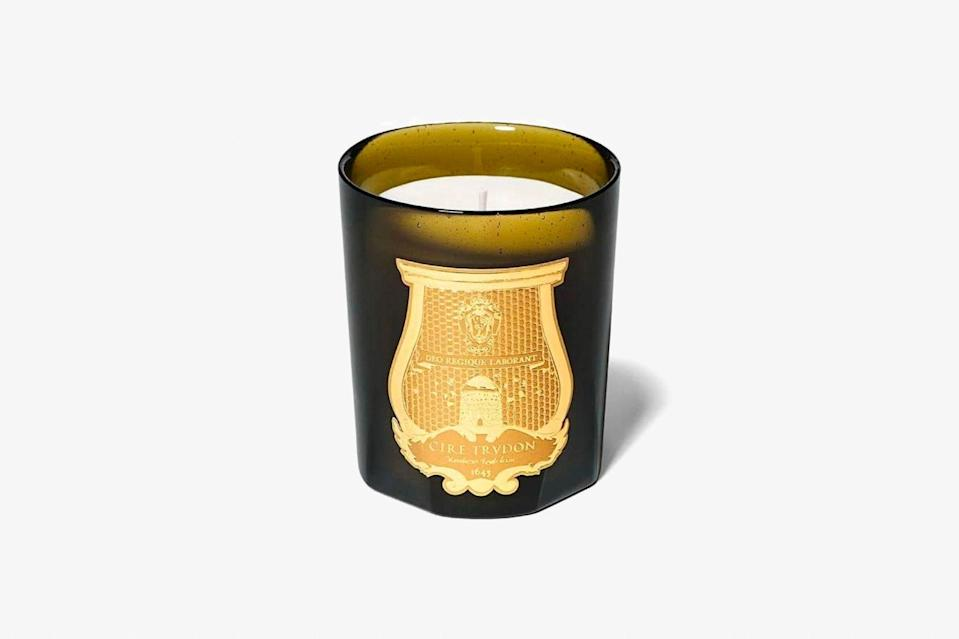 """Parisian candlemaker Cire Trudon was founded on Rue Saint-Honoré in 1643, and has been developing its signature fragrances ever since—it even provided the scents for the royal court of Louis XIV (you can, in fact, buy a wax bust of the former king to burn at your leisure) before outliving Marie Antoinette and going on to provide candles for our favorite celebrity homes. Each candle is still handmade in the brand's Normandy factory, too. You can't get more authentically French than that. $105, Amazon. <a href=""""https://www.amazon.com/Ernesto-Candle-9-5-Cire-Trudon/dp/B0080MWOKO"""" rel=""""nofollow noopener"""" target=""""_blank"""" data-ylk=""""slk:Get it now!"""" class=""""link rapid-noclick-resp"""">Get it now!</a>"""