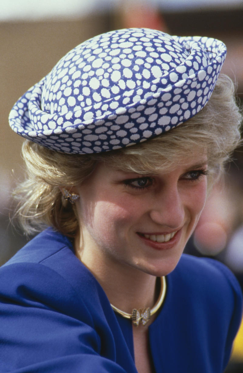 Diana, Princess of Wales (1961 - 1997) during a trip to Canada, 3rd May 1986. (Photo by Georges De Keerle/Getty Images)