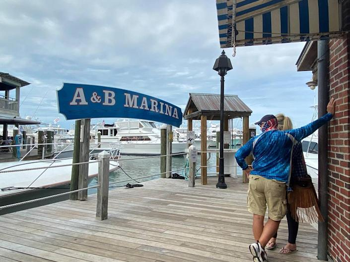 A & B Marina is located at the tourist attraction, the Key West Historic Seaport in downtown Key West.