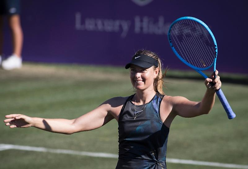 Maria Sharapova makes winning return at Mallorca Open