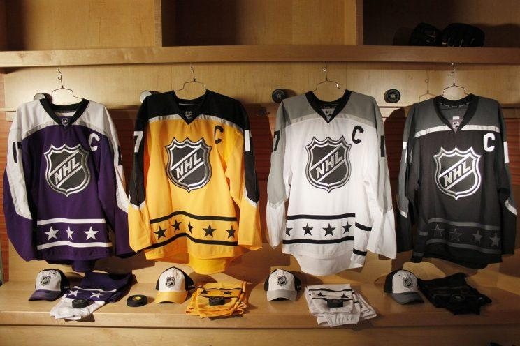 sale retailer bebba e44c9 Pass or Fail: 2017 NHL All-Star Game jerseys