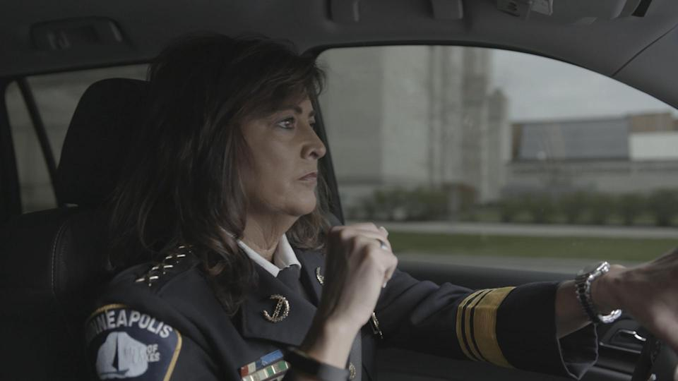 Former Minneapolis police chief, Janeé Harteau, was instrumental in getting 'Women in Blue' made before she stepped down. (Photo courtesy of The 2050 Group)