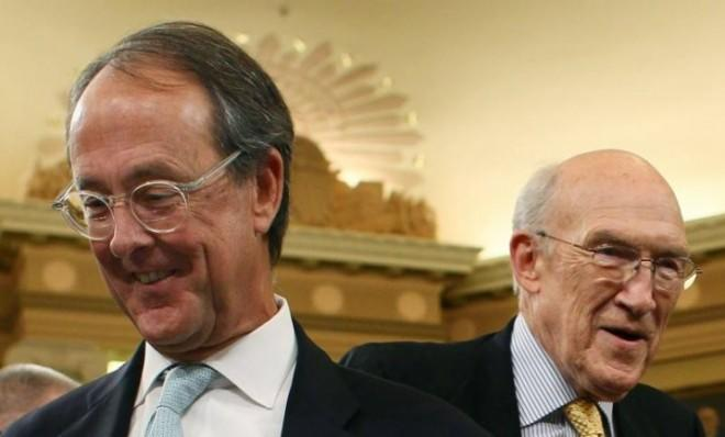 Erskine Bowles (left) and Alan Simpson are seen as budget experts.