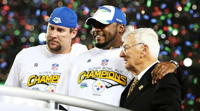 Steelers chairman Dan Rooney, the son of Steelers founding owner Art Rooney, died Thursday at age 84.