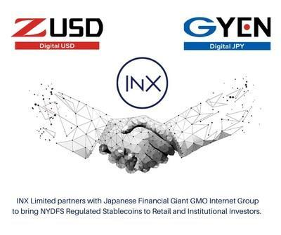 INX Limited partners with Japanese financial giant GMO Internet Group