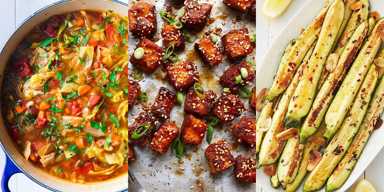 "<p>Nothing quite beats a recipe that's easy to make, yet still incredibly delicious. And these <a href=""https://www.delish.com/uk/cooking/recipes/g34232788/vegan-meals/"" target=""_blank"">vegan recipes</a> are just that. Combining some of our favourite flavours and ingredients, we've got everything from <a href=""https://www.delish.com/uk/cooking/recipes/a33388598/veggie-kabobs/"" target=""_blank"">Veggie Kabebs</a> to <a href=""https://www.delish.com/uk/cooking/recipes/a29870964/tofu-stir-fry-recipe/"" target=""_blank"">Tofu Stir Fry</a>. And we're convinced you're going to absolutely love them! </p>"