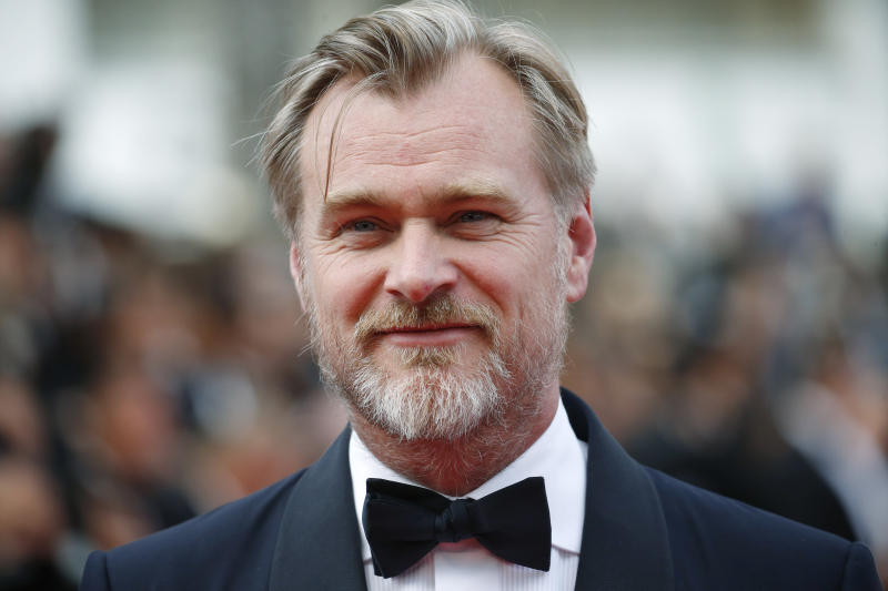"71st Cannes Film Festival - Screening of the new print of the film ""2001: A Space Odyssey"" presented as part of Cinema Classic - Red Carpet Arrivals - Cannes, France, May 13, 2018 - Director Christopher Nolan poses. REUTERS/Stephane Mahe"