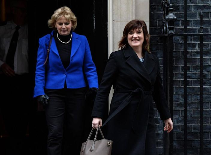Conservatives Nicky Morgan and Anna Soubry also voted against the Government (Getty)