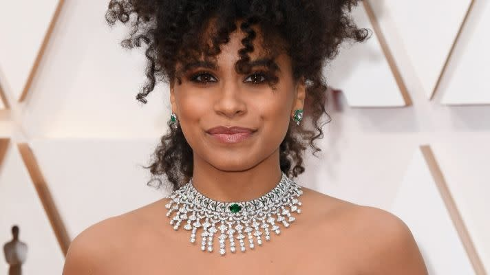Zazie Beetz's Curly Crown Commands the Spotlight at the Oscars