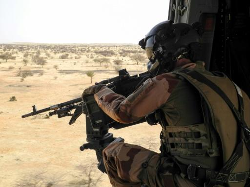 On patrol: France has committed more than 5,000 troops to its anti-jihadist force in the Sahel