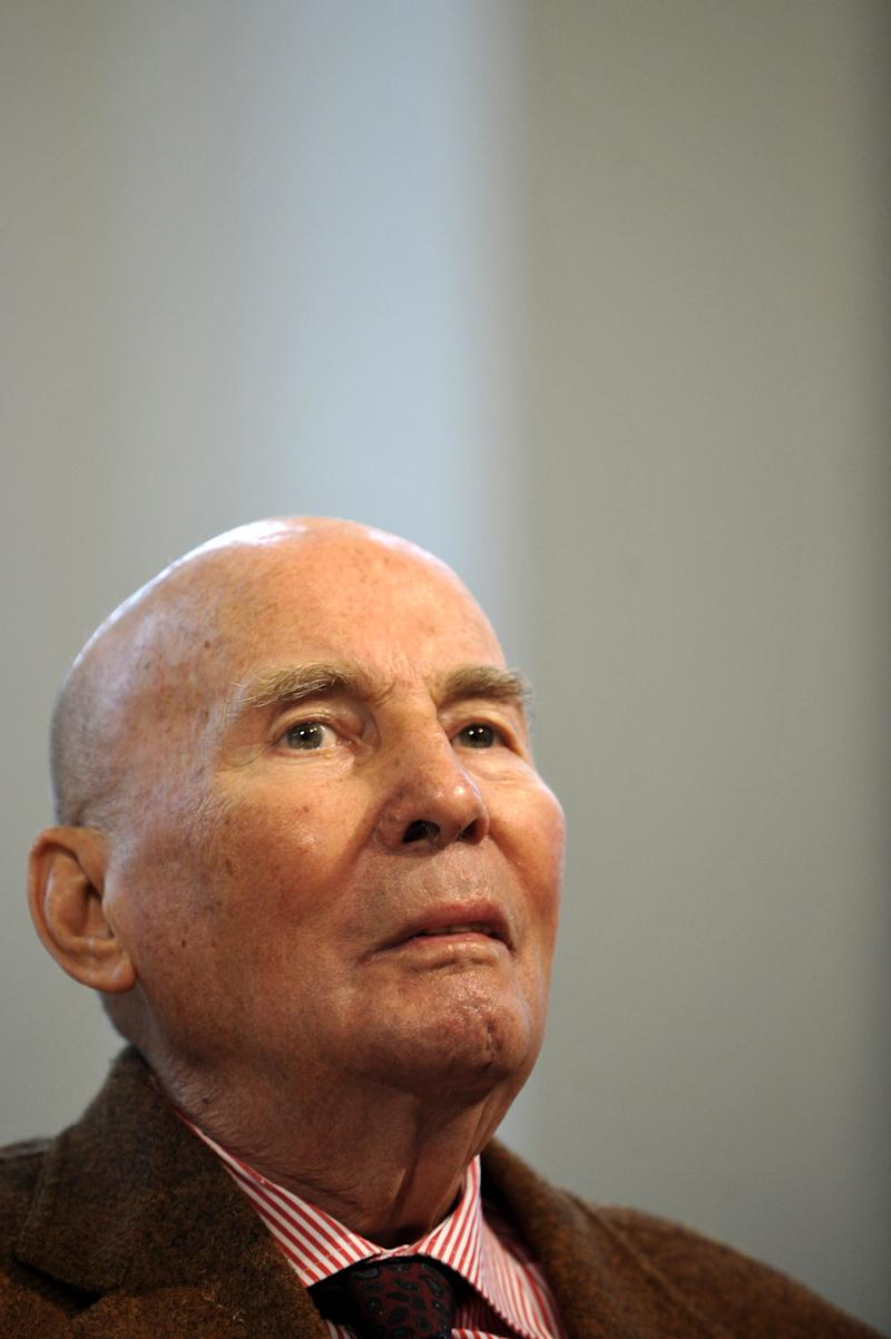 """FILE - In this Dec. 18, 2009 file picture German composer Hans Werner Henze is photographed in Essen, Germany. German avant-garde composer Hans Werner Henze's publisher says he has died at 86. Schott Music said that Henze died on Saturday Oct. 27, 2012 in Dresden. It didn't disclose the cause of death. Henze's work over the decades straddled musical genres. He composed stage works, symphonies, concertos, chamber works and a requiem. He once said that """"many things wander from the concert hall to the stage and vice versa."""" Henze was born July 1, 1926 in Guetersloh in western Germany. After studying and starting his career in Germany, he went to live in Italy in 1953. (AP Photo/dapd/Lennart Preiss, file)"""